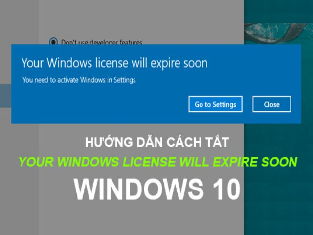 Your-Windows-license-will-expire-soon